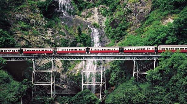 Kuranda Scenic Rail bridge crossing